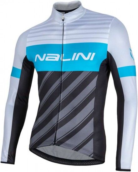 Nalini Pro Mizar Long Sleeve Cycling Jersey Grey (I17-4020)