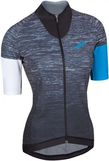 Nalini Pro Monaco Lady Jersey Short Sleeve Jersey For Ladies Blend/Blue (E17-4290)