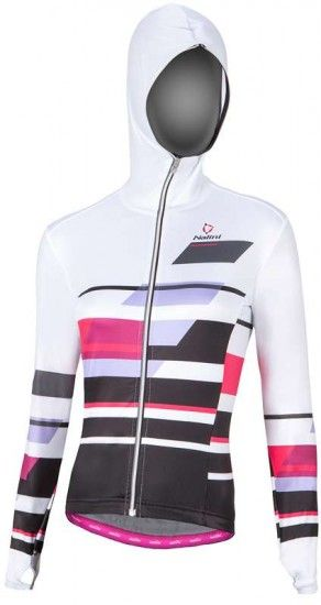 Nalini Pro Montecampione Sweat Long Sleeve Jersey White (E17-4008)