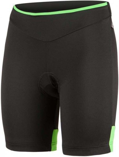 Nalini Pro Ssima Lady Short Serie 2L Cycling Trousers For Ladies Black/Green (E16-4057)