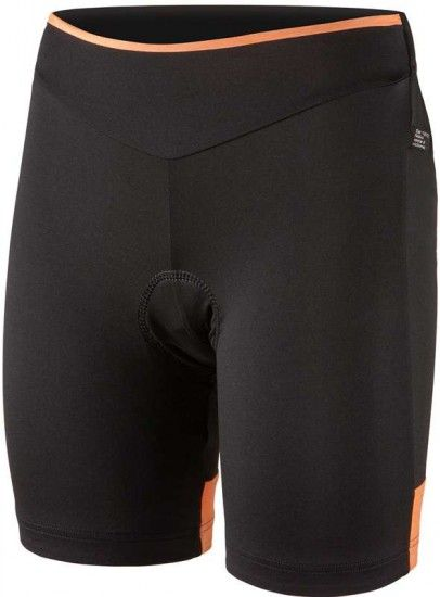 Nalini Pro Ssima Lady Short Serie 2L Cycling Trousers For Ladies Black/Orange (E17-4159)