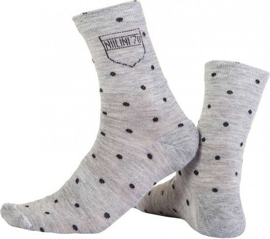 Nalini Pro New Pois (H19) Cycling Socks Grey (I16-4001)