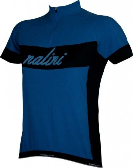 Nalini Pro Oldlace Retro Short Sleeve Jersey For Ladies Blue