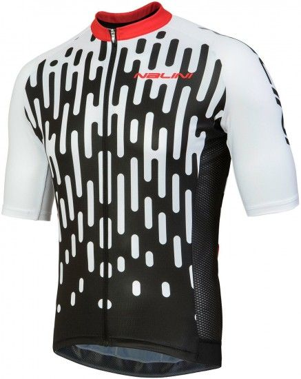 Nalini Pro Podio Jersey Short Sleeve Cycling Jersey White (E18-4020)