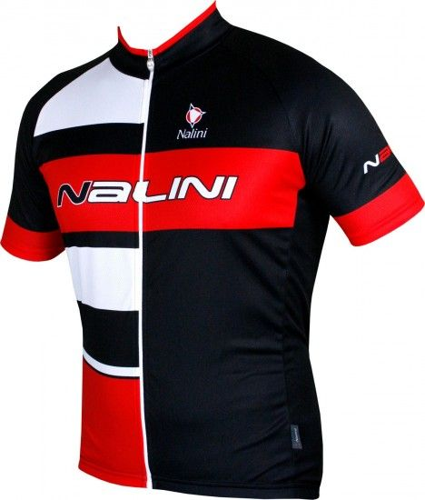 Nalini Pro Rogiletto Short Sleeve Cycling Jersey Black/Red (5100)