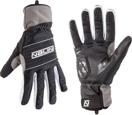 Nalini Pro Red Thermo Glove Cycling Thermo Winter Gloves Black (I18-4000)