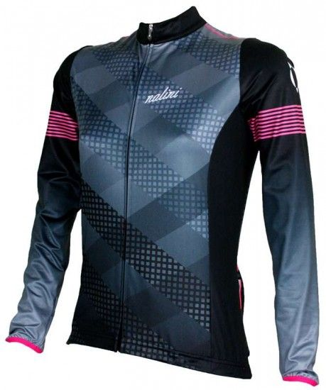 Nalini Pro Saiph Womens Long Sleeve Cycling Jersey Black (I17-4000)