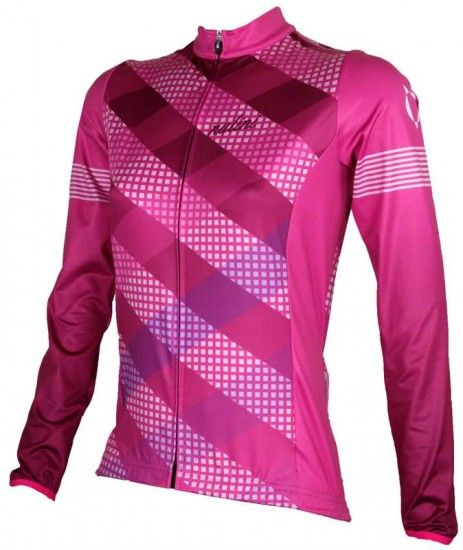 Nalini Pro Saiph Womens Long Sleeve Cycling Jersey Rosa (I17-4700)