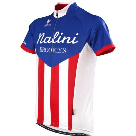 Nalini Pro Storica Ti Short Sleeve Jersey Brooklyn Cycling Team Edition