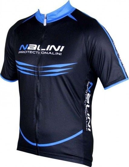 Nalini Pro Special Moco Short Sleeve Cycling Jersey Black/Blue (5210)