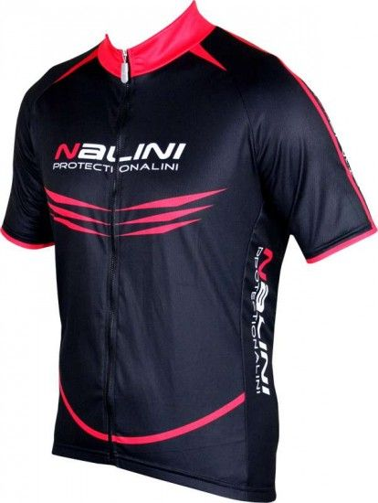 Nalini Pro Special Moco Short Sleeve Cycling Jersey Black/Red (5100)