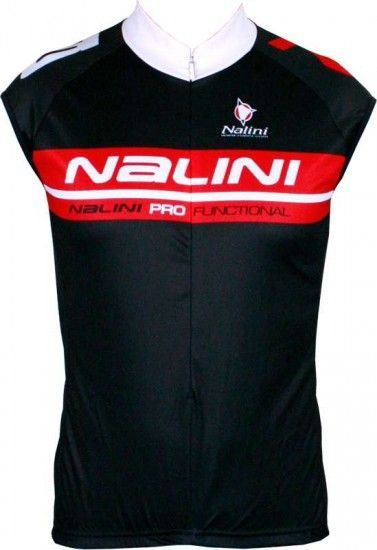 Nalini Pro Special Musk Sleeveless Jersey For Kids Black/Red