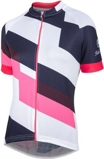 Nalini Pro Stripe Lady Jersey Short Sleeve Jersey For Ladies White (E17-4290)