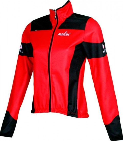 Nalini Pro Telve Thermo-Winter-Jacket For Girls Red
