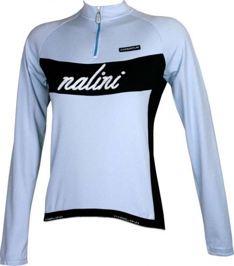 Nalini Pro Thistle Retro Long Sleeve Jersey For Ladies Light Blue