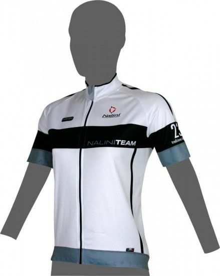 Nalini Pro Team Lady Ti Short Sleeve Jersey White