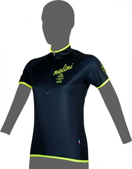 Nalini Pro Thinking Lady Ti Short Sleeve Jersey Black