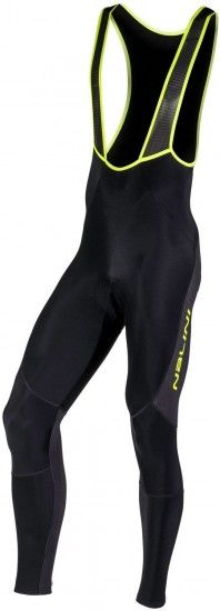 Nalini Pro Tights Logo Bib Tight Cycling Bib Black/Yellow (I18-4050)