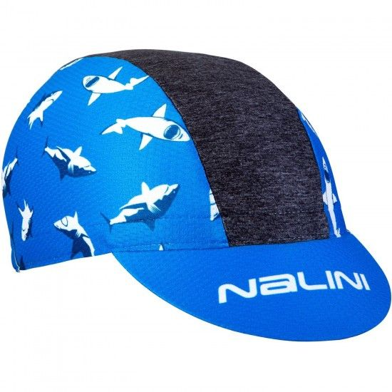 Nalini Pro Vulcano Cycling Cap Shark-Design (E18-4200)