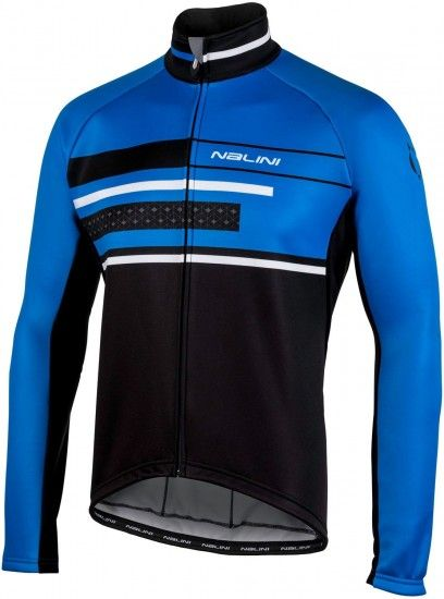 Nalini Pro Ws Classica Jkt Winter Cycling Jacket Black/Blue (I18-4200)