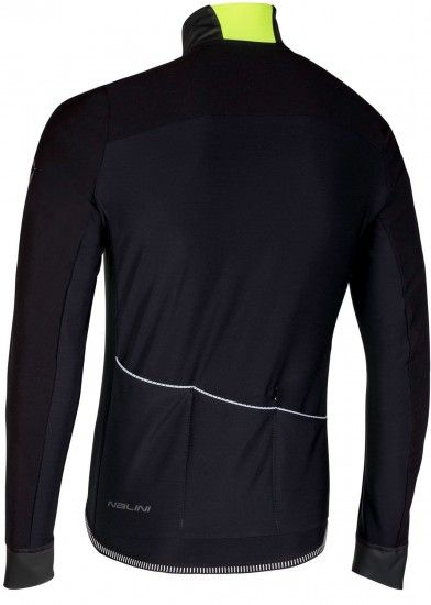 Nalini Pro Xwind Jersey Long Sleeve Cycling Jersey Black (I18-4000)