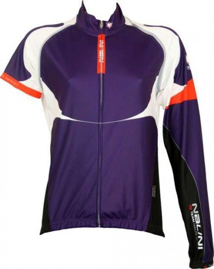 Nalini Pro Convertible Jacket Pompelmo Purple