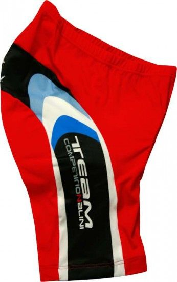 Nalini Pro Cycling Short For Kids Scubino Red