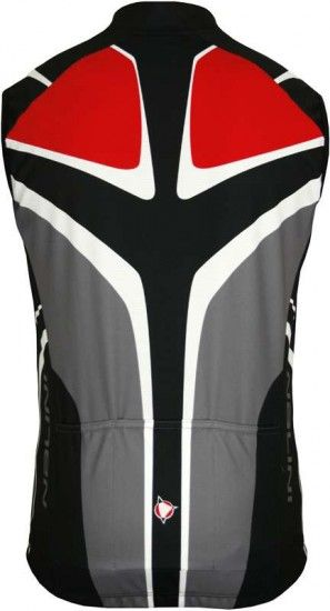 Nalini Pro Sleeveless Jersey For Kids Deneb Black