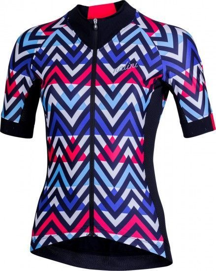 Nalini Raffinata 2.0 Womens Short Sleeve Cycling Jersey Blue/Black (E19-4700)