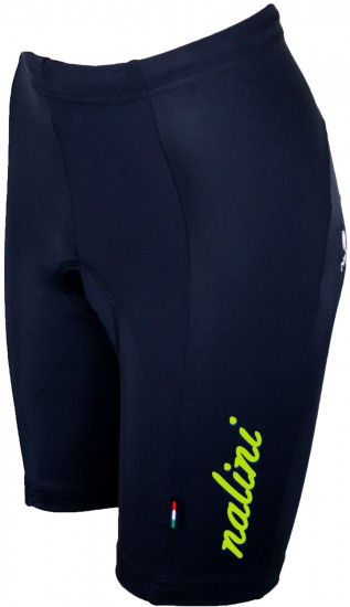 Nalini Teljo Womens Cycling Shorts Black/Neon Yellow (E19-5300S)