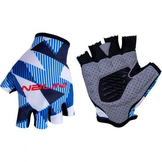 Nalini Vetta 2.0 Short Finger Cycling Gloves Blue/White (E19-4250)