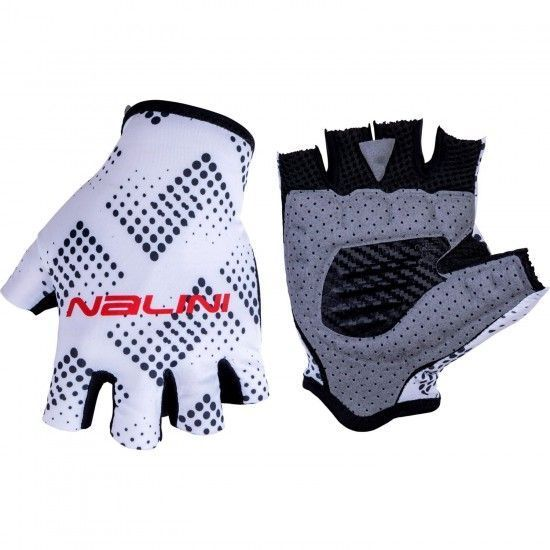 Nalini Vetta 2.0 Short Finger Cycling Gloves White/Black (E19-4020)