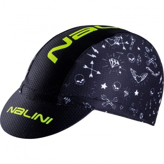 Nalini Vulcano 2.0 Cycling Cap Black (E19-4000)