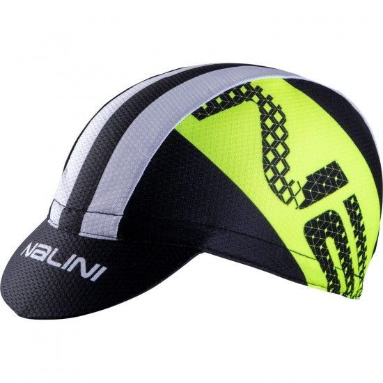Nalini Vulcano 2.0 Cycling Cap Black/Yellow (E19-4050)