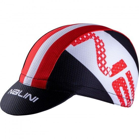 Nalini Vulcano 2.0 Cycling Cap Red (E19-4100)