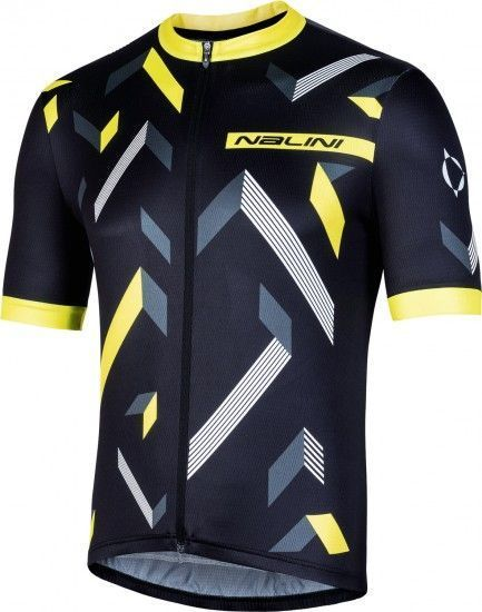 Nalini Cycling Set (Jersey Discesa 2.0 + Bibshort Gregario 2.0) Yellow (E19)