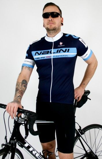 Nalini Cycling Set (Jersey Kenty + Short Sisco2) Navy/Black (E19)