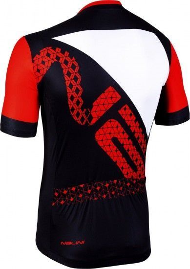 Nalini Cycling Set (Jersey Vittoria 2.0 + Bibshort Squadra) Red (E19)