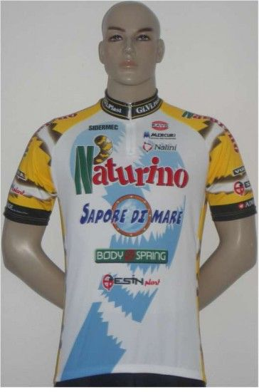 Nalini Naturino 2005 Professional Cycling Team - Cycling Jersey With Short Zip