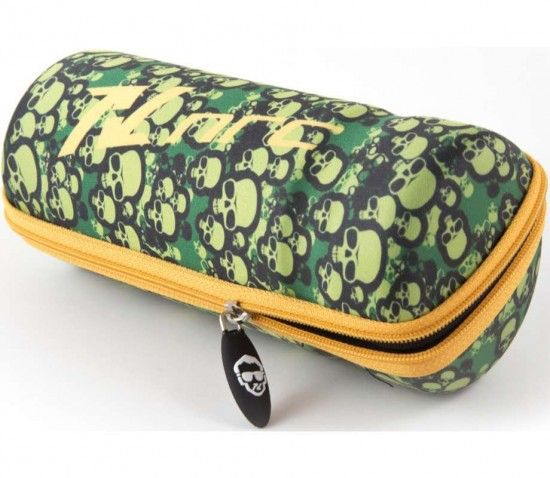Nrc Bc150.2Sku Bottle Case Green/Orange (Skull Texture)