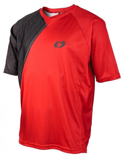 O'Neal Pin It Short Sleeve Cycling Jersey Mtb/Freeride Red/Black