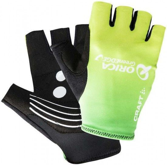 Craft Orica Greenedge 2016 Short Finger Gloves - Professional Cycling Team