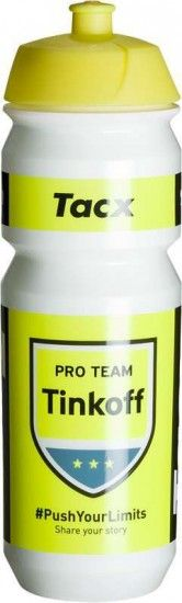 Tacx Pro Team Tinkoff 2016 Water Bottle 750 Ml - Professional Cycling Team