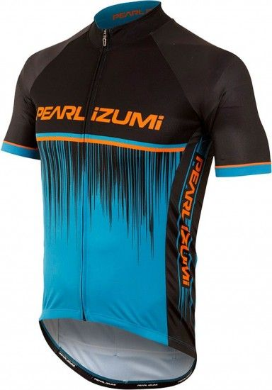 Pearl Izumi Elite Pursuit Ltd Short Sleeve Cycling Jersey Blue/Black