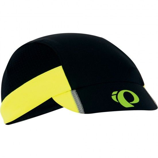Pearl Izumi Transfer Cycling - Cycling Cap Black/Yellow Fluo