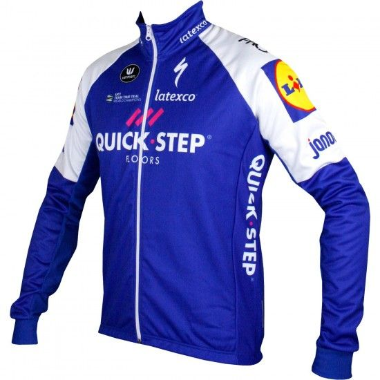 Vermarc Quick-Step Floors 2017 Winter Cycling Jacket - Professional Cycling Team