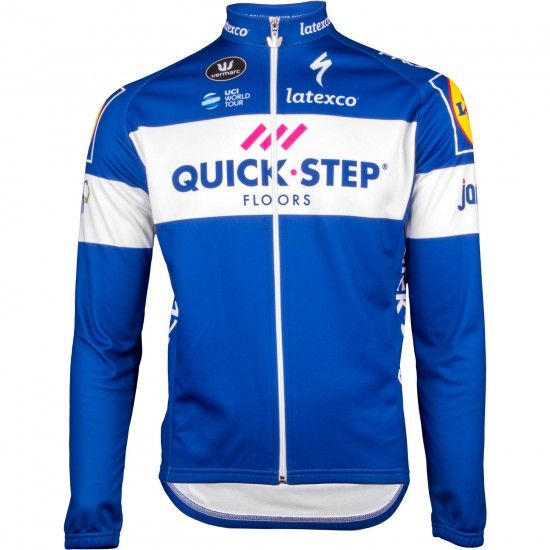 Vermarc Quick-Step Floors 2018 Long Sleeve Jersey - Professional Cycling Team