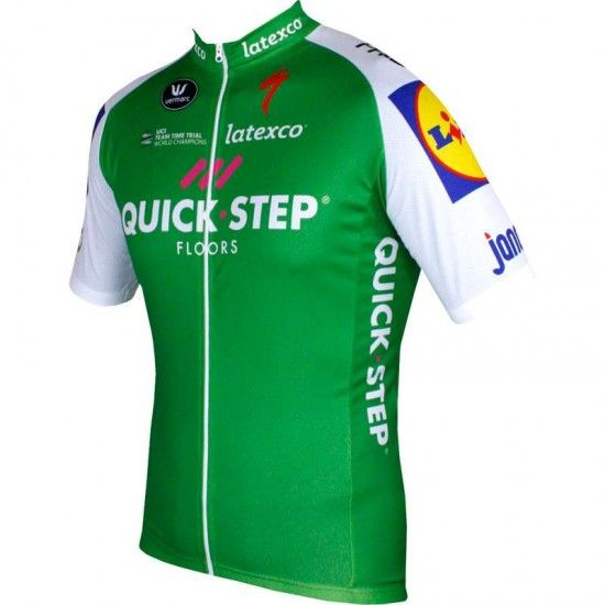 Vermarc Quick-Step Floors - Tour De France Green Jersey 2017 (Best Sprinter/Ponits Classification)
