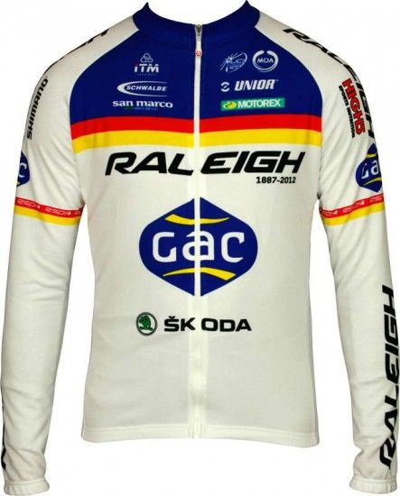 Moa Raleigh 2012 Professional Cycling Team - Cycling Long Sleeve Jersey