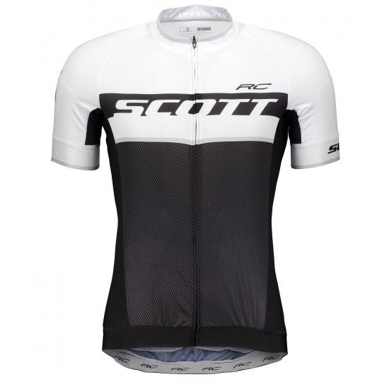 Scott Rc Pro S/Sl Short Sleeve Cycling Jersey Black/White (264821)